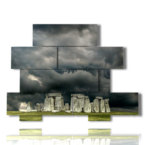 Stonehenge landscape painting