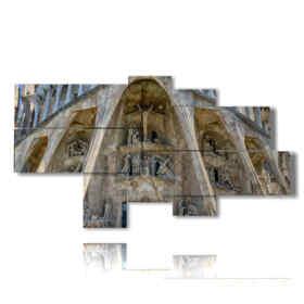quadri a Barcellona Sagrada Familia