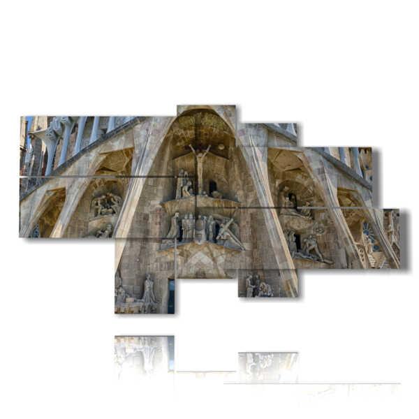 cuadros en Barcelona Sagrada Familia