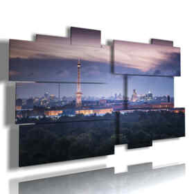painting with Berlin at night pictures