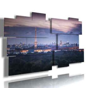 tableaux avec Berlin photos de nuit