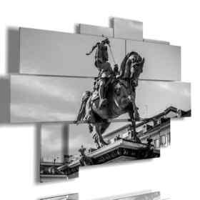 tableaux à l'affiche Torino par Emanuele Filiberto de Savoie Statue