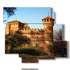 modern paintings Turin Castle