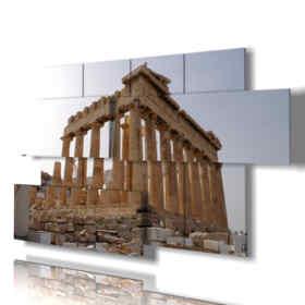 Quadro moderno - Repubblica Domenicana - Multipannello e multilivello 3D