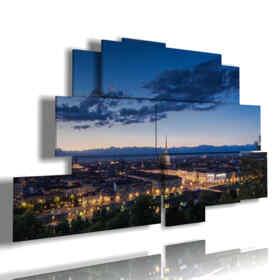 Turin Elevated paintings