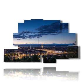 quadri Torino dall'alto