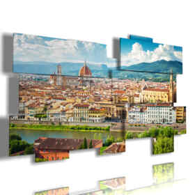 cuadro con la imagen Florencia