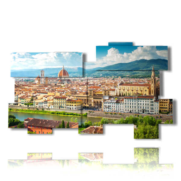 painting with image Florence