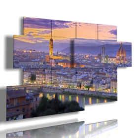 cuadros con bellas imágenes de Florencia