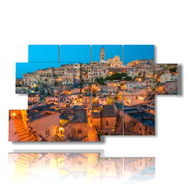 picture modern city Matera - Basilicata