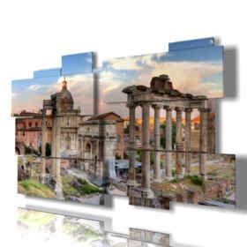 quadri moderni - Faro 03 - centro