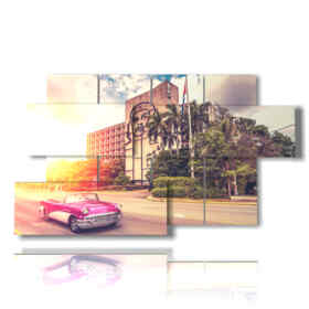 quadro con foto di cuba immagini