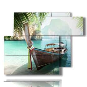quadro con foto spiagge di cuba