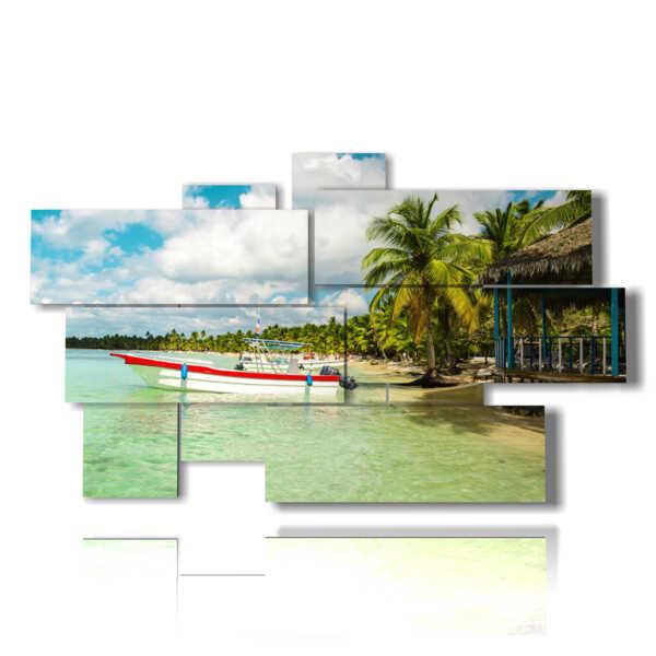 cuadros con hermosas fotos de Cuba