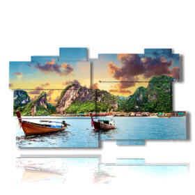 quadro con foto paesaggi di cuba