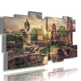 cuadro con imágenes cuba