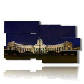 picture with photos St. Petersburg landmarks