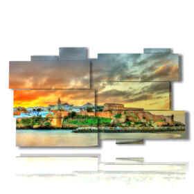 quadro con foto Marocco