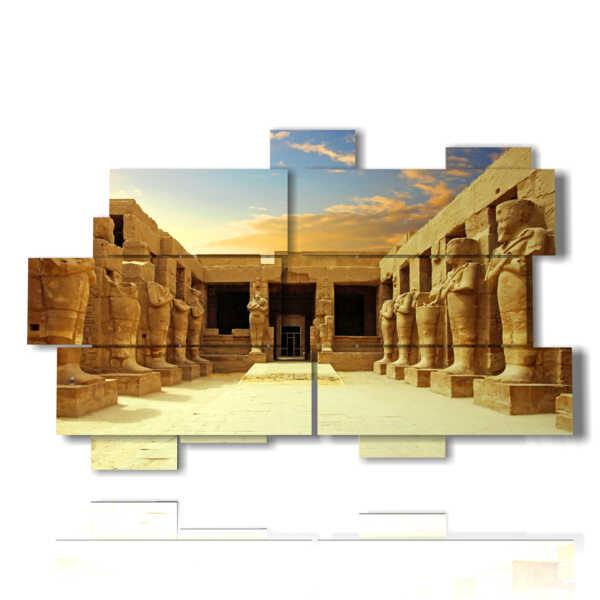 tableaux avec des tableaux Egypte