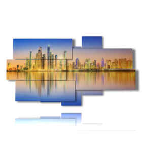 picture with photos city of Dubai