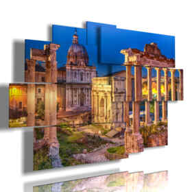 pictures of Rome with spectacular Roman Forum
