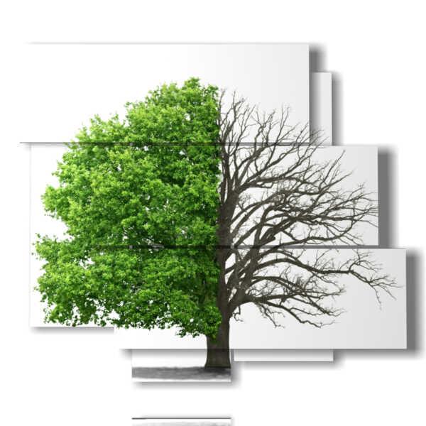 tableaux stylisées arbres sans demi-saisons