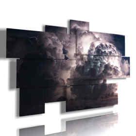 cuadros de tormentas