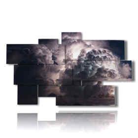 quadri di temporali sull