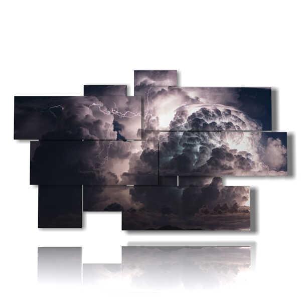 tableaux de tempêtes