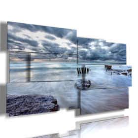 tableaux mer orageuse
