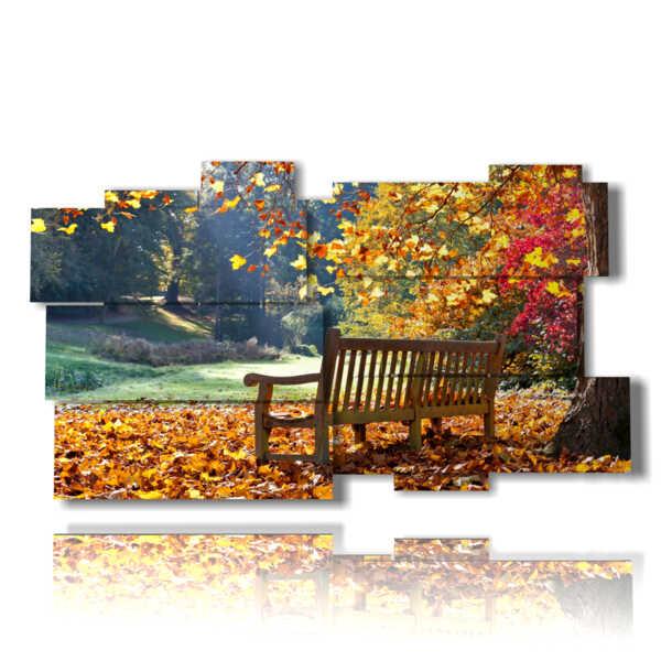 tableaux avec de belles tableaux d'automne