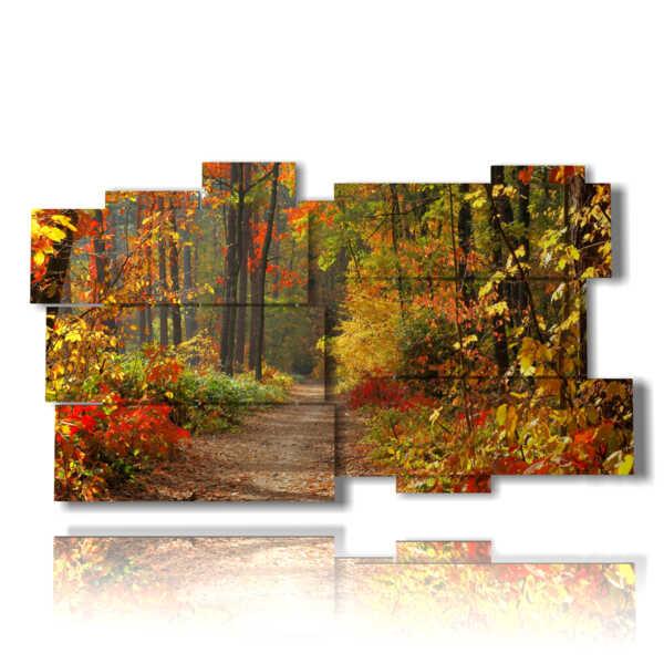 photo avec l'automne photo dans les montagnes