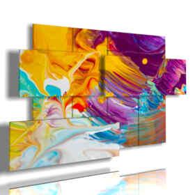quadro moderno bellissimo a colori