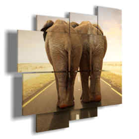 painting with pictures funny elephants