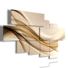 tableaux modernes beige