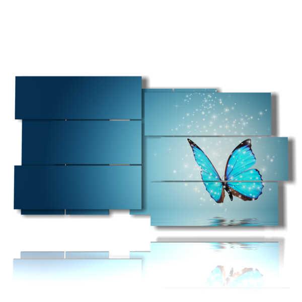 tableaux avec des tableaux magiques papillons rares