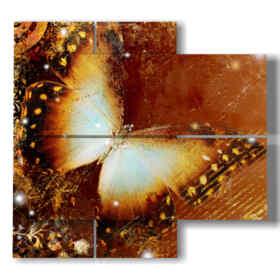 mariposas estilizadas cuadros