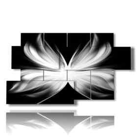 quadro cuore farfalle ali di angelo