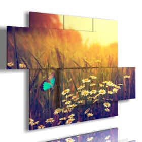 tableaux 3d avec des papillons