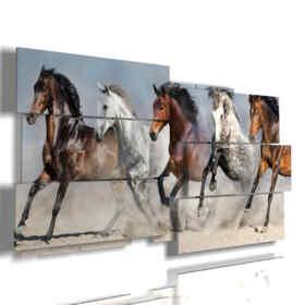tableaux de chevaux arabes prêt à