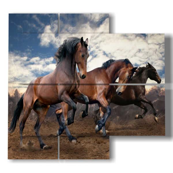 quadri famosi di cavalli selvaggi