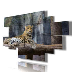 Printed picture - Woman - Multipanel and multilevel 3D. Large size