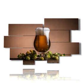 foto cerveza espumosa