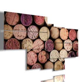 tableaux de capsules de tableaux abstraites