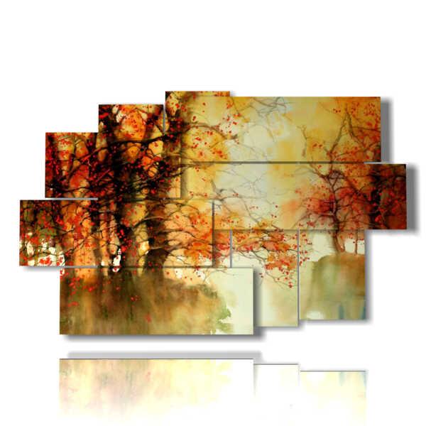 quadri astratti immagini paesaggio