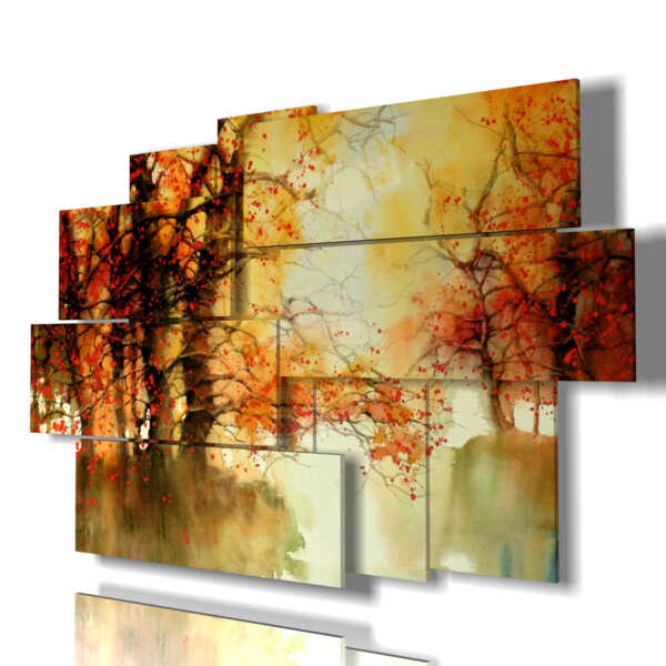 Quadro moderno - Fiore 03 - centro