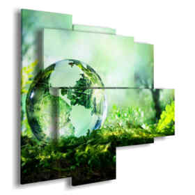 cuadros del arte abstracto de la gota del Mundo