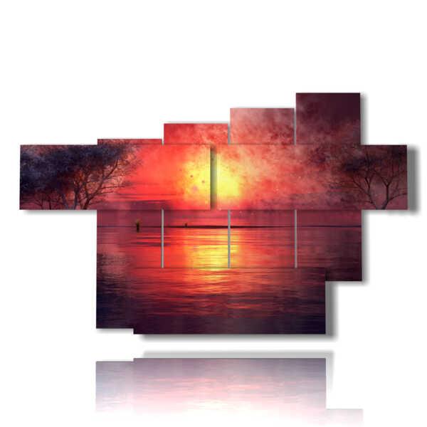 Bild mit künstlerischen Phantasie Bilder