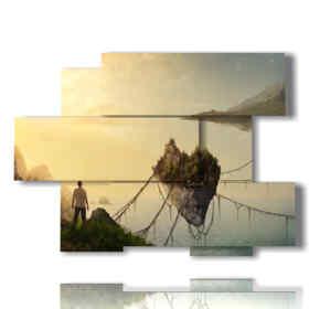 la imagen del corazón de la roca de la fantasía