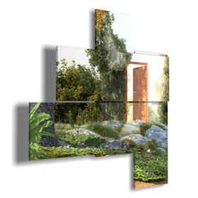 quadri moderni - Seycelles 03 - destra